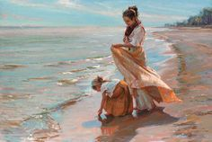 Daniel Gerhartz Portfolios I Love the use of color, in all of his works