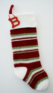 Crochet Free Pattern Free Stocking pattern - Crochet an heirloom this Christmas with this free pattern from B. Crochet Christmas Stockings can be cherished and passed down for years. Crochet Christmas Stocking Pattern, Crochet Stocking, Crochet Christmas Decorations, Holiday Crochet, Christmas Knitting, Crochet Gifts, Crochet Hooks, Free Crochet, Christmas Patterns