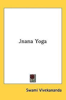 Jnana Yoga Swami Vivekananda front cover