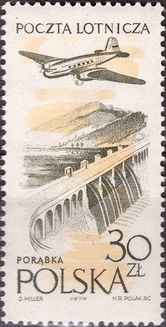 Znaczek: Porabka dam (Polska) (Poczta lotnicza) Mi:PL 1083,Sn:PL C50,Pol:PL 938