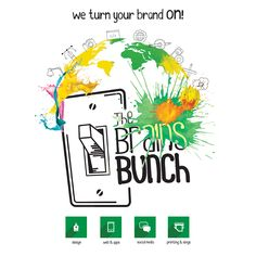 We are a modern and creative agency specializing in branding, graphic and industrial #design, web design and development, social networking and printing. Come to #TheBrainsBunch! | Somos una agencia moderna y creativa, especializada en branding, diseño gráfico e industrial, diseño y desarrollo web, redes sociales e impresión. Ven a #TheBrainsBunch!  #branding #content #digital #create #online