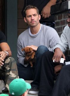 "Paul Walker Photos: ""The Fast and the Furious 6"" Shoots in Silver Lake"