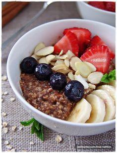 radilica — Coolinarika Good Morning Breakfast, Acai Bowl, Oatmeal, Food, Acai Berry Bowl, The Oatmeal, Rolled Oats, Essen, Meals