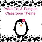 I have created a Polka Dot and Penguin Classroom Theme!  This kit includes the following items:  * Welcome to __ Grade! sign * 7 Center signs  *  G...