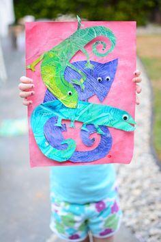Chameleon Art - Meri Cherry