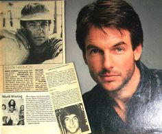 MARK HARMON - NCIS, Chicago Hope, The West Wing, St. Elsewhere - Color and B Clippings, Pin-Ups from 1975-1989
