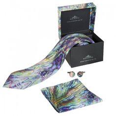Kia Kaha Mens Boxed Paua Tie Set Pocket Handkerchief, Tie Matching, Maori Designs, Tie Set, Print Logo, New Zealand, Skin Care, Prints, Men