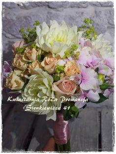 Bukiet ślubny z Dalią :)