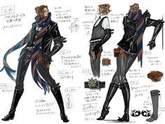 Concept Art of Luka, from Bayonetta. #Concept #Art #Luka #Bayonetta