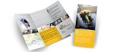 Deze folder voor ill graff design is ontworpen om eventuele klanten een overzicht te kunnen bieden met betrekking tot bruiloft foto reportages. De huisstijl is hier compleet in doorgevoerd, zodat een duidelijke bedrijfsidentiteit behouden blijft.