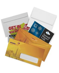 Our Digitally Printed Envelopes Are Made On High Tech Digital Presses These Full Color Your Least Expensive Option For Quantities From 250 To