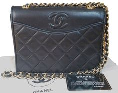 d16dca6f10c3 The Chanel Vintage Classic Cc Quilted As Seen On Nicole Richie Black  Lambskin Shoulder Bag is a top 10 member favorite on Tradesy.