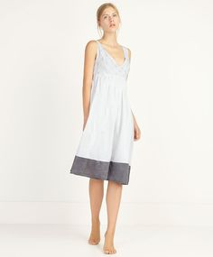 Crossover floral nightgown - OYSHO 49.99 €