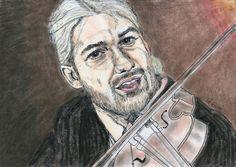 David Garrett by Vanessafari - #DavidGarrett by #Vanessafari. This portrait and more at vanessafari.com