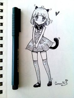 Мы учимся рисовать аниме!