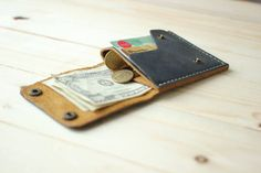 Leather Coin Wallet, Mens Leather Wallet, Mens Wallet, Coin Wallet, Leather Wallet, Men's Gift, Boyfriends Gift , Birthday Gift