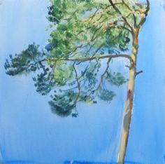 Rémi Hamoir, Tree-Lovely Weather, Peinture