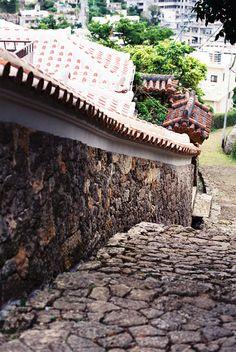 Shurikinjo stone path, Okinawa 首里金城町の石畳
