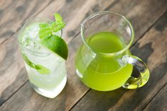 Make this easy, brilliant green cucumber simple syrup and enjoy cucumber spritzers and cocktails for the rest of summer.