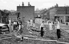 Lambeth Bomb Site 1950's