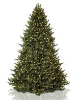 Vermont White Spruce Artificial Christmas Trees by Vermont Signature - Balsam Hill  #MyBalsamHillHome