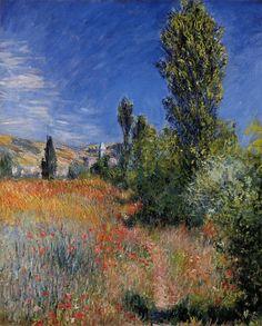 Landscape on the Ile Saint-Martin ~ Claude Monet