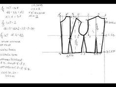 Scuola di cucito 5 Tracciato corpetto Base - YouTube