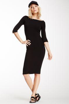 James Perse Side Panel Skinny Dress