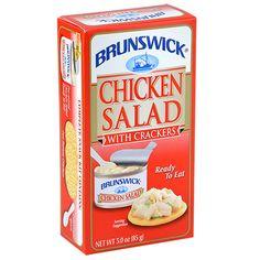Brunswick Chicken Salad with Crackers, 3-oz. Kits