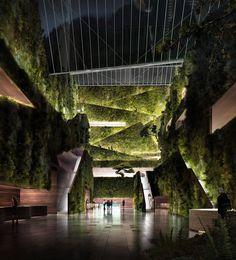 Vals Hotel (Invited Competition Entry) | Jensen & Skodvin Architects. Location: Vals, Switzerland | Renders: MIR