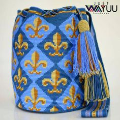 """New Cheap Bags. The location where building and construction meets style, beaded crochet is the act of using beads to decorate crocheted products. """"Crochet"""" is derived fro Bead Crochet, Filet Crochet, Crochet Crafts, Knitting Accessories, Fashion Accessories, Mochila Crochet, Tapestry Crochet Patterns, Tapestry Bag, Boho Bags"""