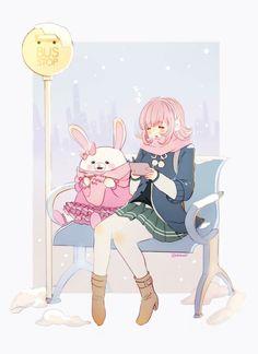 Nanami & Monomi