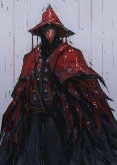 Bloodborne - Eileen the Crow.