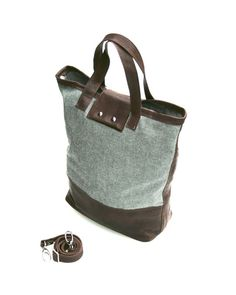 Wool & Leather Carry All Uncovet