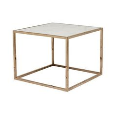 Globe West Elle cube marble side table (€600) ❤ liked on Polyvore featuring home, furniture, tables, accent tables, polish furniture, white marble table, marble side table, cube end tables and cube side table
