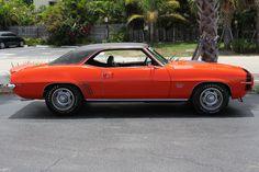 1969 CHEVROLET CAMARO RS/SS 2 DOOR COUPE - 174491