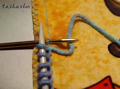 Как соединять ткань и вязание (трикотаж)