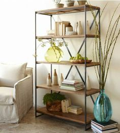 $995 railroad tie bookcase http://www.vivaterra.com/catalog/product/view/id/12145/s/railroad-tie-bookshelf/category/299/