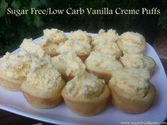 Sugar Free Like Me: Sugar Free/Low Carb Vanilla Creme Puffs