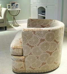swivel bucket chair...not this pattern...