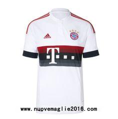 Maglia Bayern Monaco Seconda 2015-2016