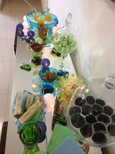 Green and blue Party