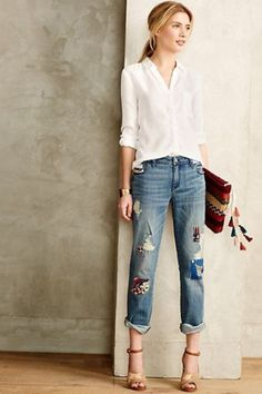 21 Trendy Outfits With Patchwork Denim To Recreate   Styleoholic