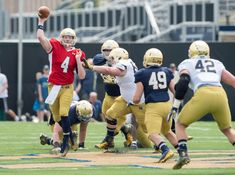 Training grounds for the Fighting Irish    Image source: https://slapthesign.com/2016/03/17/notre-dame-football-8-myths-spring-practice/