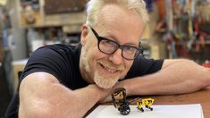 Adam Savage's Live Builds: LEGO Rickshaw