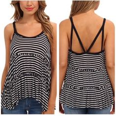 Free People new with tag top size S Beautiful tank top⛔️NO TRADE⛔️ very stretchy viscose material, 10%  off if bundled. Free People Tops