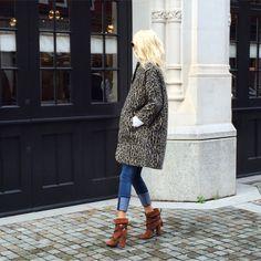 London I Aquazzura I Poppy I leopard coat