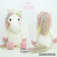 işte buda benim unicornum pastel renginin güzelliğine diyecek yok • • • Und hier kommt mein Einhorn #amigurumi#amigurumitoy#unicorn#einhorn#barbie#örgü#häkeln#crochet#knitting#pink#mommytobe#tbt#ootd#baby#handmade#selfmade#elemegi#göznuru#örgüoyuncak#healthytoy#babyshower#itsagirl#girl#toy#spielzeug#oyuncak