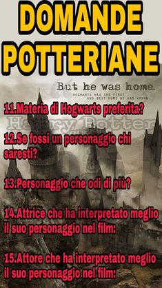 #DomandePotteriane ⚡  Allora :  11- Incantesimi 12- Hermione Granger  13- Dolores Umbridge 14- Emma Watson 15- Alan Rickman   Vediamo un po' #Potterheads sono curiosa ✌️⚡  Passate nel nostro gruppo : https://www.facebook.com/groups/1618492761792081/  Telegram : https://t.me/joinchat/FhbXdUJZGkmAv5vBgKZBGA  Instagram : https://www.instagram.com/harry_potter_binario934/  ⚡Hermione⚡