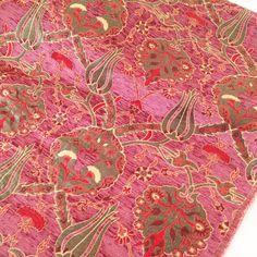 Items similar to Meter / Yard, Tulips Chenille, Ethnic Tribal Style Chenille Upholstery Fabric, Velvet Fabric, Aztec Navajo Geometric Design Kilim Fabric on Etsy